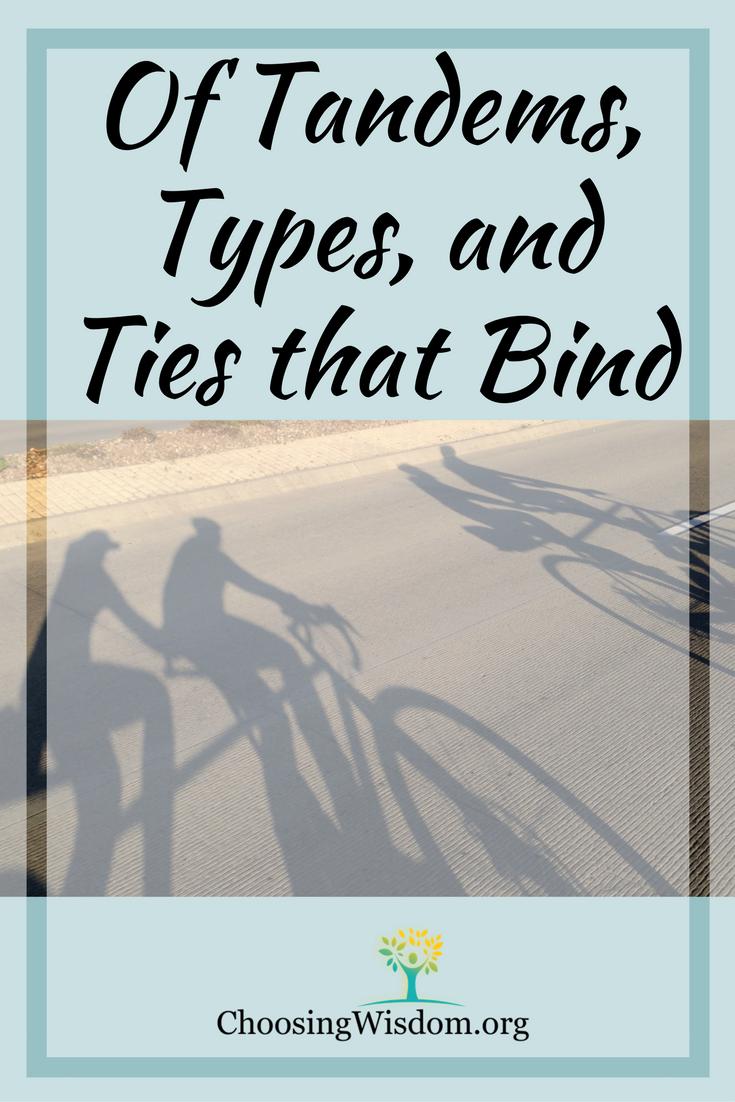 Tandems Types Ties that Bind Choosing Wisdom