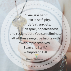 Decide to be Fearless: 4 Ways to Conquer Your Fears 3