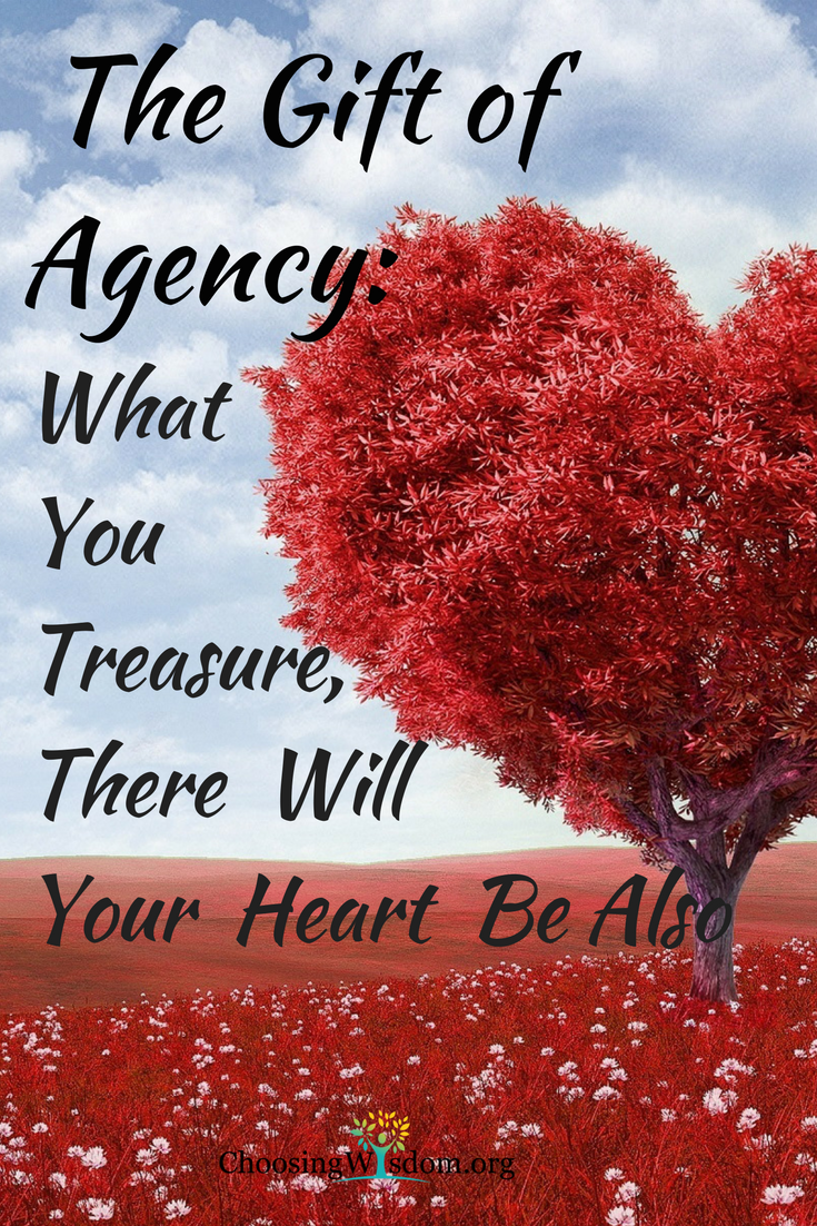 The Gift of Agency - What You Treasure, There Will Your Heart Be Also